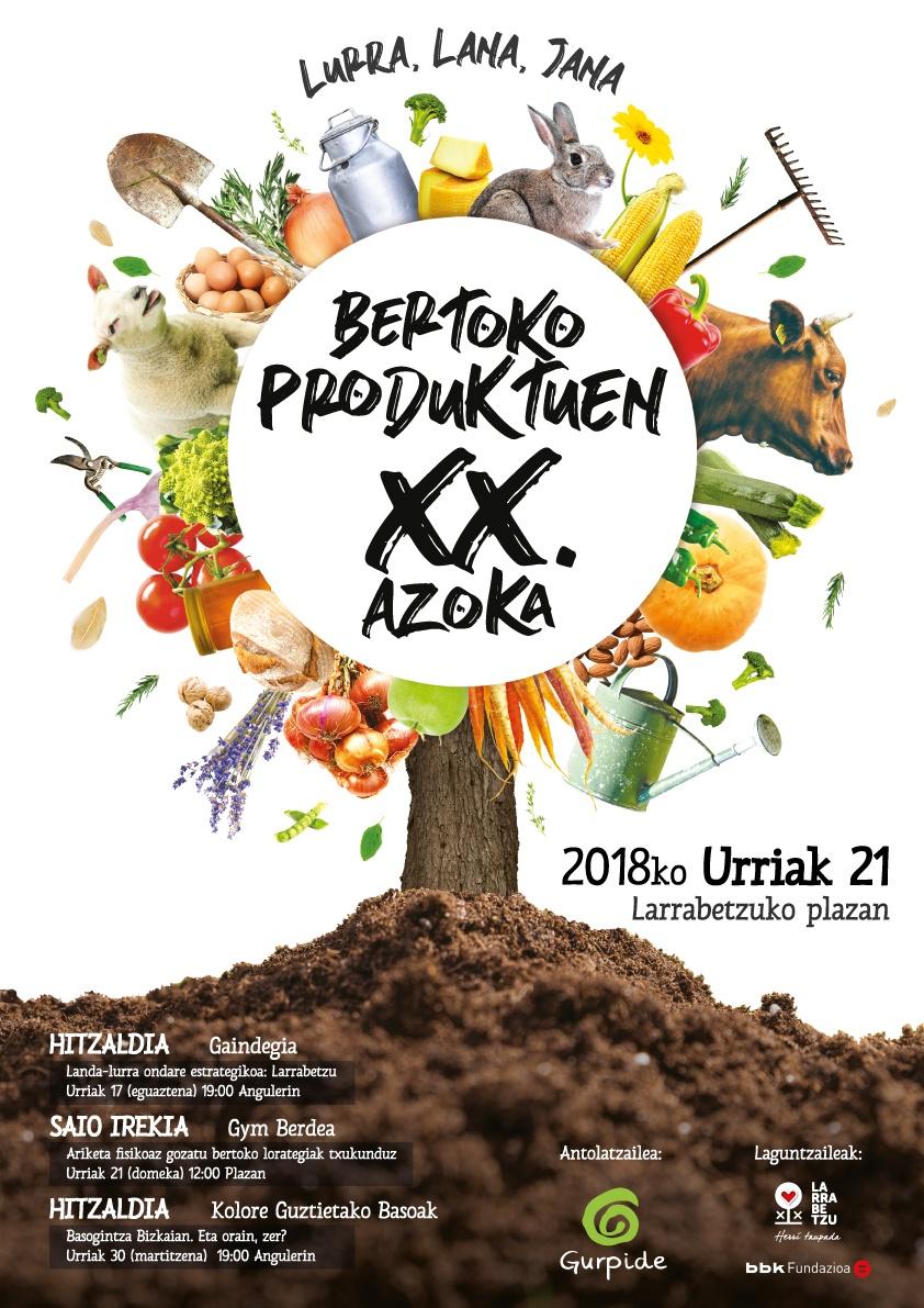 Azoka larrabetzu 2018 /txaramela pasta